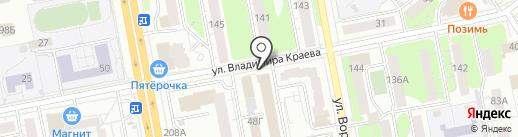 Федеральная система кадровой безопасности на карте Ижевска