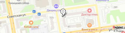 Индустрия путешествий на карте Ижевска
