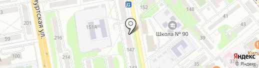 Лиана-тур на карте Ижевска