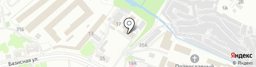 Специальный приемник для содержания лиц, подвергнутых административному аресту на карте Ижевска