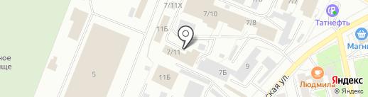 Роста на карте Ижевска