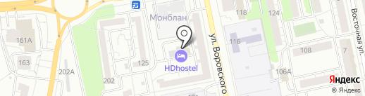 Тахограф18 на карте Ижевска