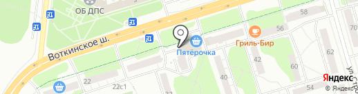 ПЕННОЕ ЗОЛОТО на карте Ижевска