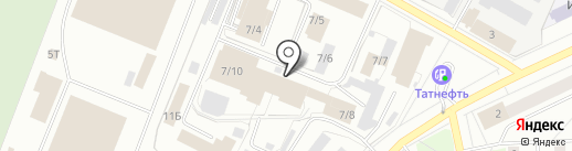 Заправка5 Ижевск на карте Ижевска