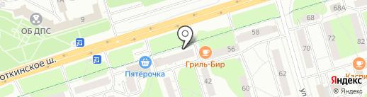 Магазин хозяйственных товаров на карте Ижевска