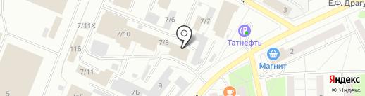 Би Эм Групп на карте Ижевска