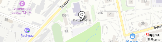 Автошкола на карте Ижевска