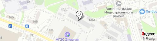 Мягков Авто на карте Ижевска