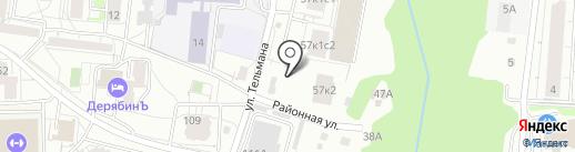 СТРОИТЕЛЬНАЯ КОМПАНИЯ ЭКОМОНТАЖ на карте Ижевска