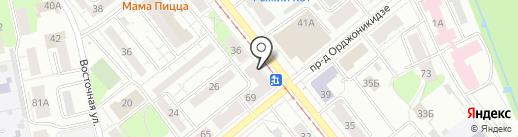 Сердитый Гражданин на карте Ижевска