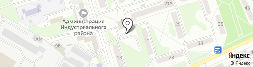 Дзержинская на карте Ижевска