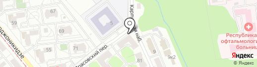 Русь-Ижевск на карте Ижевска