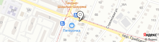 Буль-буль на карте Ижевска