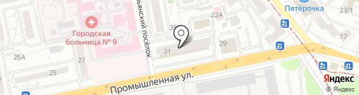 Цветочная база на карте Ижевска