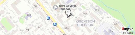 Ижевск 360 на карте Ижевска