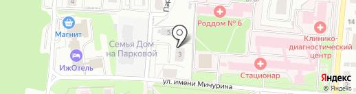 Инвестиционная Промышленная Компания на карте Ижевска