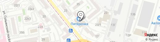Кураж на карте Ижевска