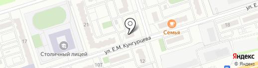 Лоджии18 на карте Ижевска