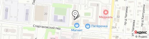 Ателье по ремонту одежды на карте Ижевска