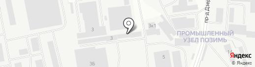 СПБ-Упак на карте Ижевска