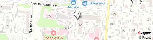 Линия Жизни на карте Ижевска