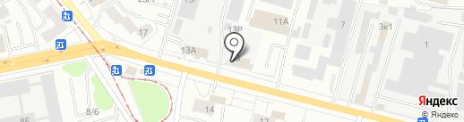 Инвест-логистика на карте Ижевска