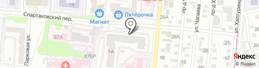 Техномед на карте Ижевска
