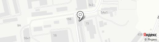 Стройка Про на карте Ижевска