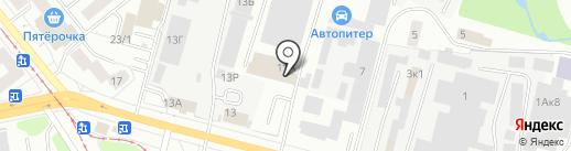 Автоальянс на карте Ижевска