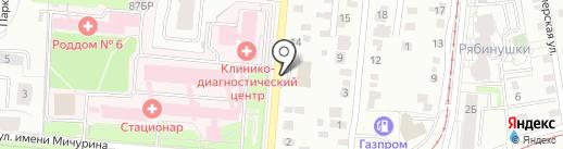 Техника здоровья на карте Ижевска
