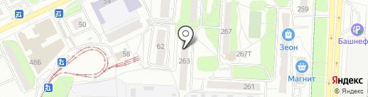 Пряжа на карте Ижевска