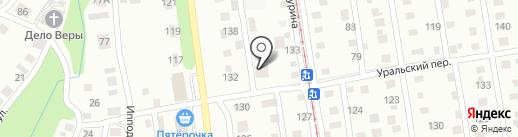 Дорош на карте Ижевска