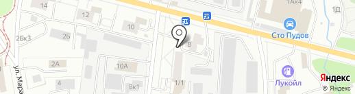 Trifle.me на карте Ижевска