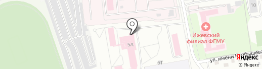 РАЗВИВАШКИ на карте Ижевска