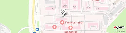 Городская клиническая больница №7 на карте Ижевска