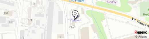 Автоблеск на карте Ижевска
