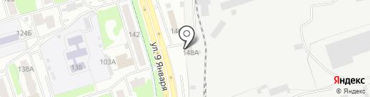 Столичная на карте Ижевска