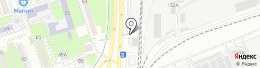 Поляна на карте Ижевска