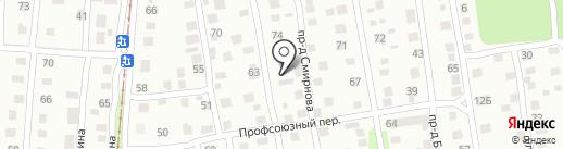 Белый ветер на карте Ижевска