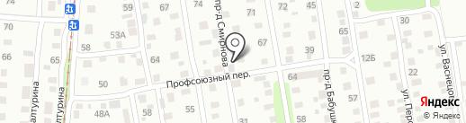 Транспортная компания по пассажирским грузоперевозкам на карте Ижевска