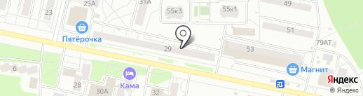 Магазин оптики на карте Ижевска