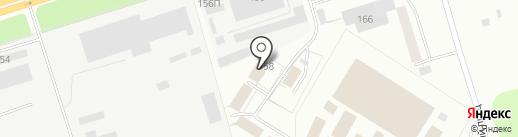 Аркос на карте Ижевска