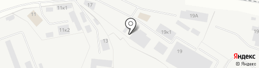 Собрание на карте Ижевска