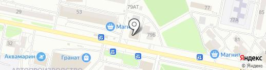 Мастерская по ремонту обуви и изготовлению ключей на карте Ижевска