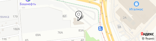Иволга на карте Ижевска