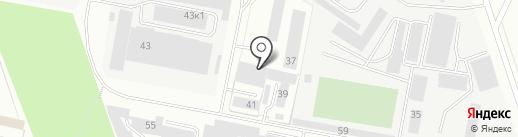 ИжНефтеГаз на карте Ижевска