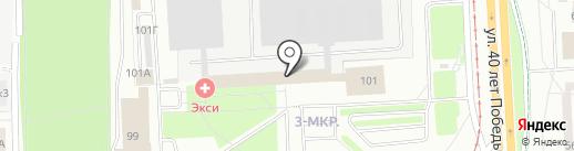 АТВ Союз на карте Ижевска