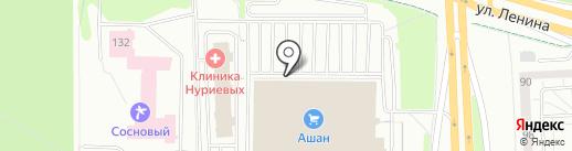 KALINZA на карте Ижевска