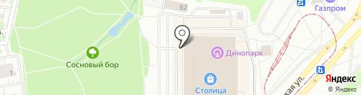 Мистериум на карте Ижевска