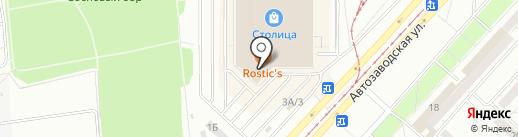 Творец на карте Ижевска